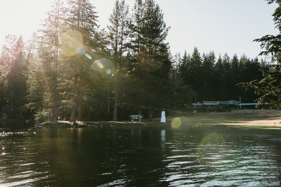 Summer Camp with Lake on Whidby Island