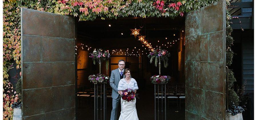 JM Cellars Wedding} Kim and Charles' Fall Northwest Wedding